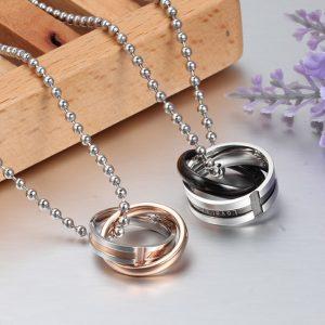 Парные кулоны Кольца - Бесконечная любовь