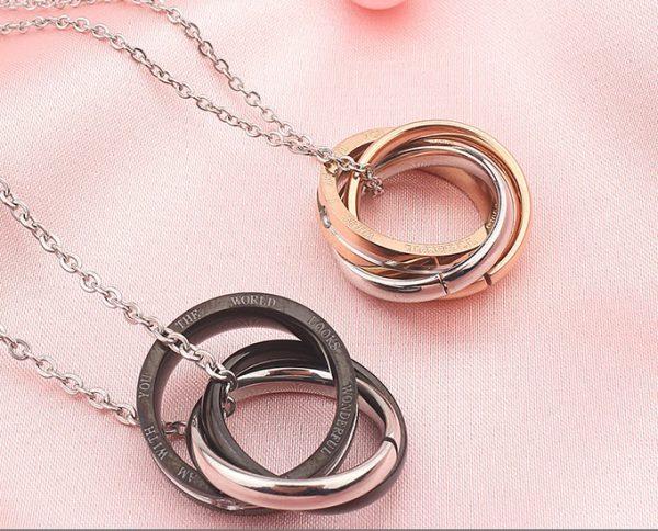 Парные кулоны Кольца тройные
