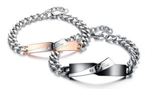 Парные браслеты для влюбленных Love
