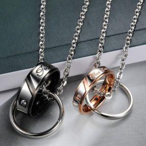 Парные кулоны Кольца Настоящая любовь