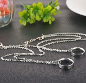 Парные браслеты для влюбленных Вместе с тобой.