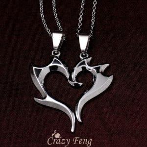 Двойные кулоны Крейзи сердца