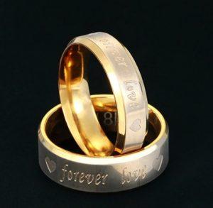 """Кольца для влюбленных """"Любовь навсегда"""""""