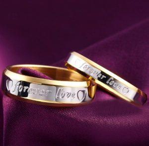 Кольца для влюбленных Любовь навсегда