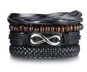 Комплект браслетов - Бесконечность