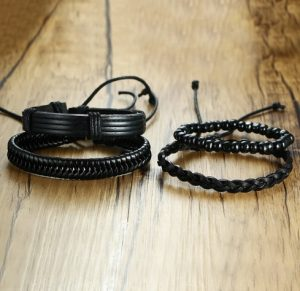 Комплект браслетов - Pulseira Masculina