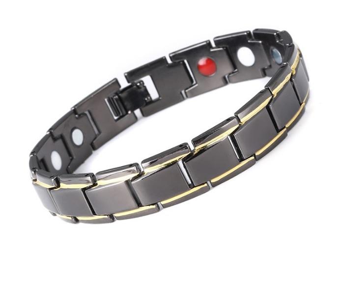 Мужской браслет черный