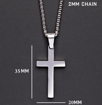 Крест из нержавеющей стали