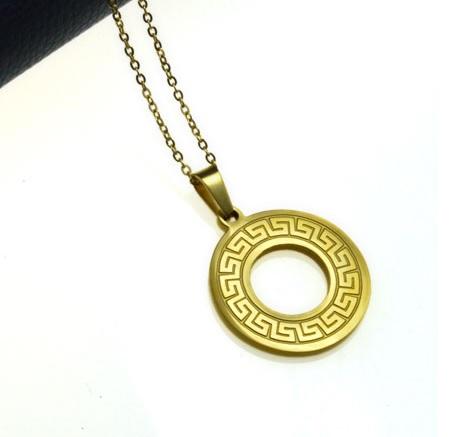 Кулон Золотое кольцо