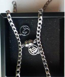 Парные браслеты с магнитом и знаком зодиака
