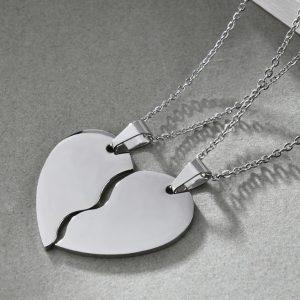 Кулоны для двоих Сердце