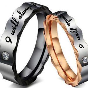 Кольца для пары Я всегда буду с тобой