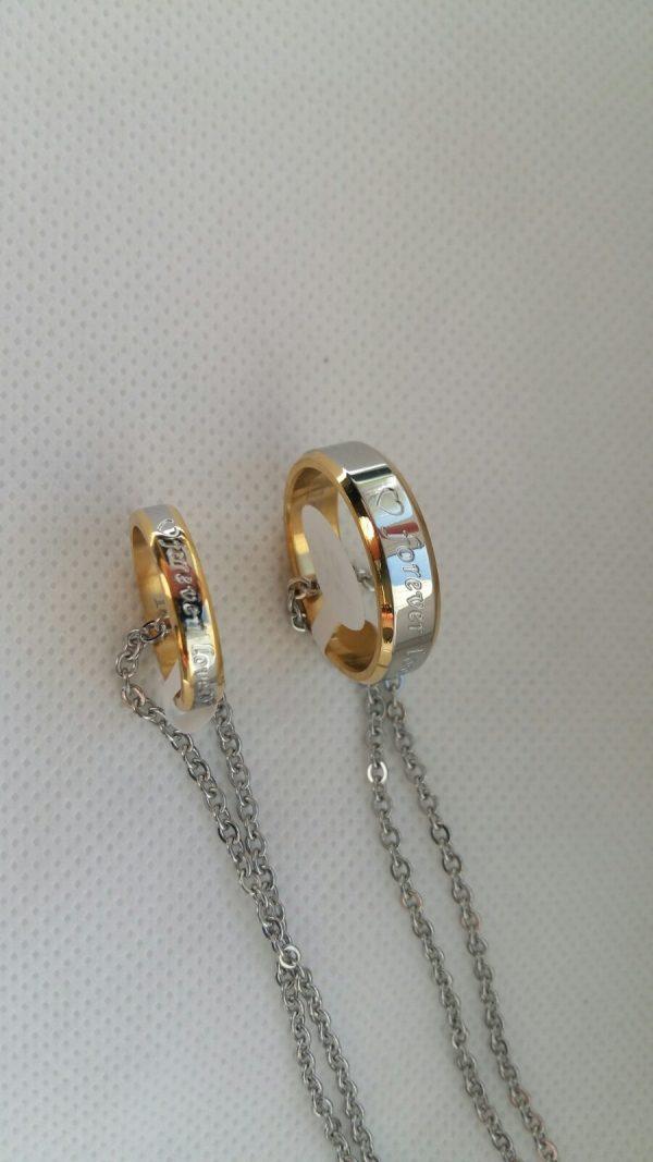 Кулоны- кольца для влюбленных Love