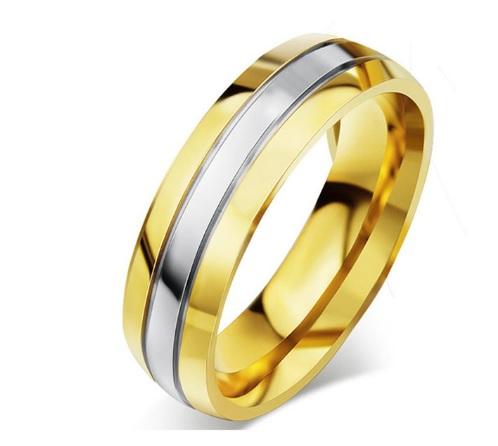 Кольцо мужское из нержавеющей стали