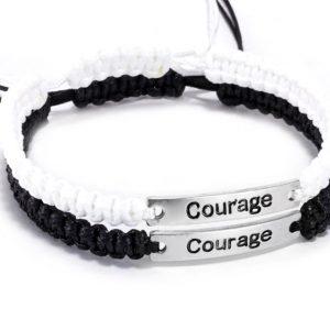 Браслеты парные Courage